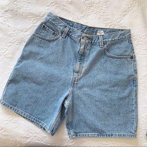 Levi's 80s 90s High Waist Mom Jean Shorts Faded
